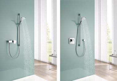 Kludi E2 zuhanycsaptelep, falsík feletti/alatti