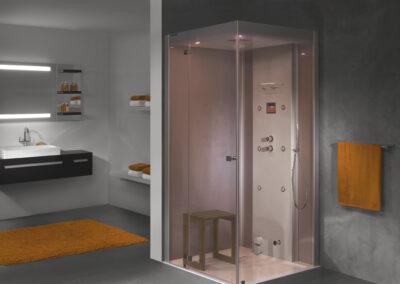 ÚJ!! Gőz-, és hidromasszázs zuhanybox