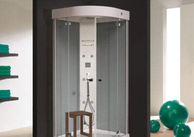 Hydromasszázs rendszerek-zuhanykabin 100x100-tól