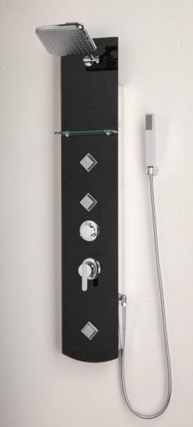 BATH üveg zuhanypanel, beépített funkciókkal