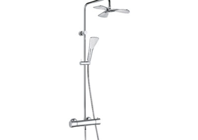 Kludi Fizz termosztátos zuhanyrendszer