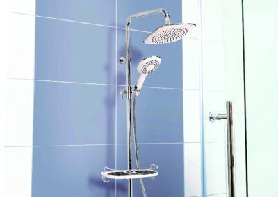 Rainshower esőztetős zuhanyrendszer, termosztátos csapteleppel