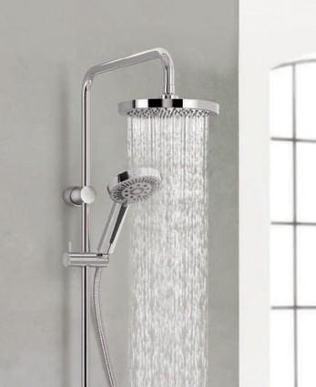 Kludi A-QA termosztátos zuhanyrendszer esőztető fejjel