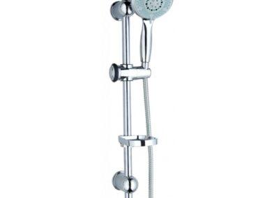 Design 5 funkciós zuhanyszett állítható masszázs fejjel