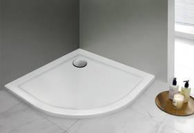 Akril zuhanytálca, akril, 100x100 cm, 1,5 cm mély-től