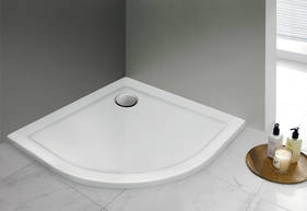 Akril zuhanytálca, 100x100 cm, 1,5 cm mély-től