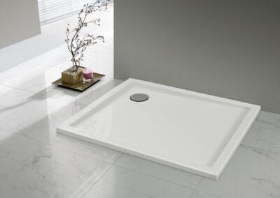 Akril zuhanytálca, 80x100 cm-től, 1,5 cm mély-től