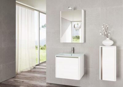 Soft Glass fürdőszoba bútor