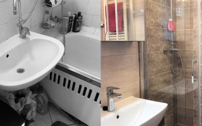 Deme Lászlóné – Panel fürdőszoba felújítás