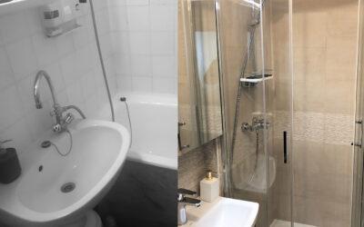 K. Boglárka – design fürdőszoba kialakítás