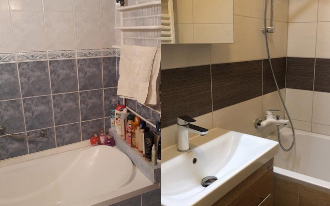 P. Katalin – Panel fürdőszoba felújítás