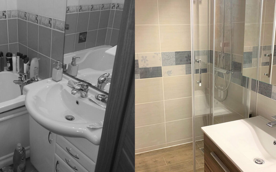 Papp család – Egyedi zuhanykabin és fűtőtest kialakítása