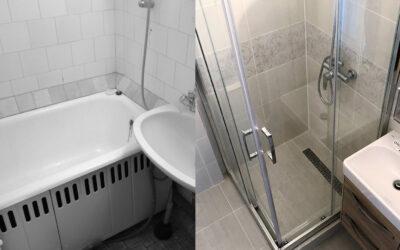 R. Kamilla – Panel fürdőszoba felújítás