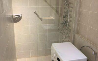R. Eszter – Társasházi fürdőszoba felújítás
