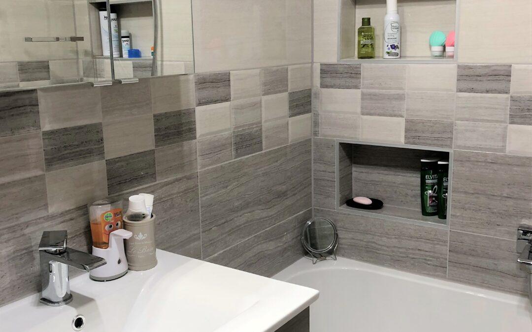 W. Béla – Panel fürdőszoba felújítás