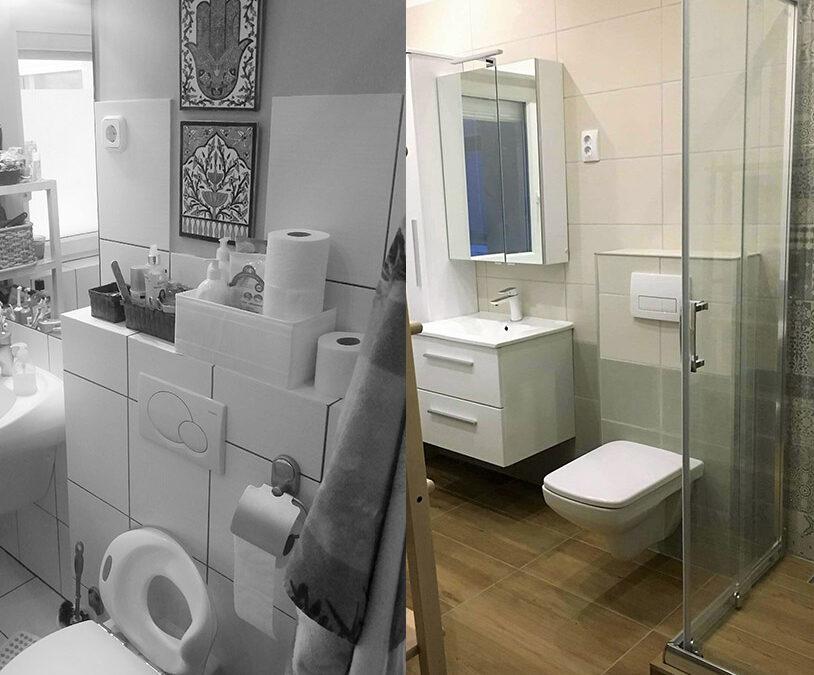 S.K Márti. – társasházi fürdőszoba felújítása