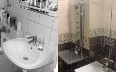 Sz. Andrea – Kádas fürdőszoba átalakítás