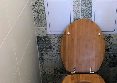 Újfürdő fürdőszoba felújítás referencia - Sz. Gabriella