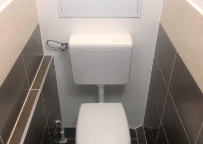 Újfürdő fürdőszoba felújítás referencia - Sz. Andrea