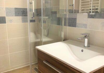 Újfürdő fürdőszoba felújítás referencia - Papp család