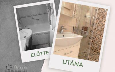 Sz. Alíz – Társasházi fürdőszoba felújítás