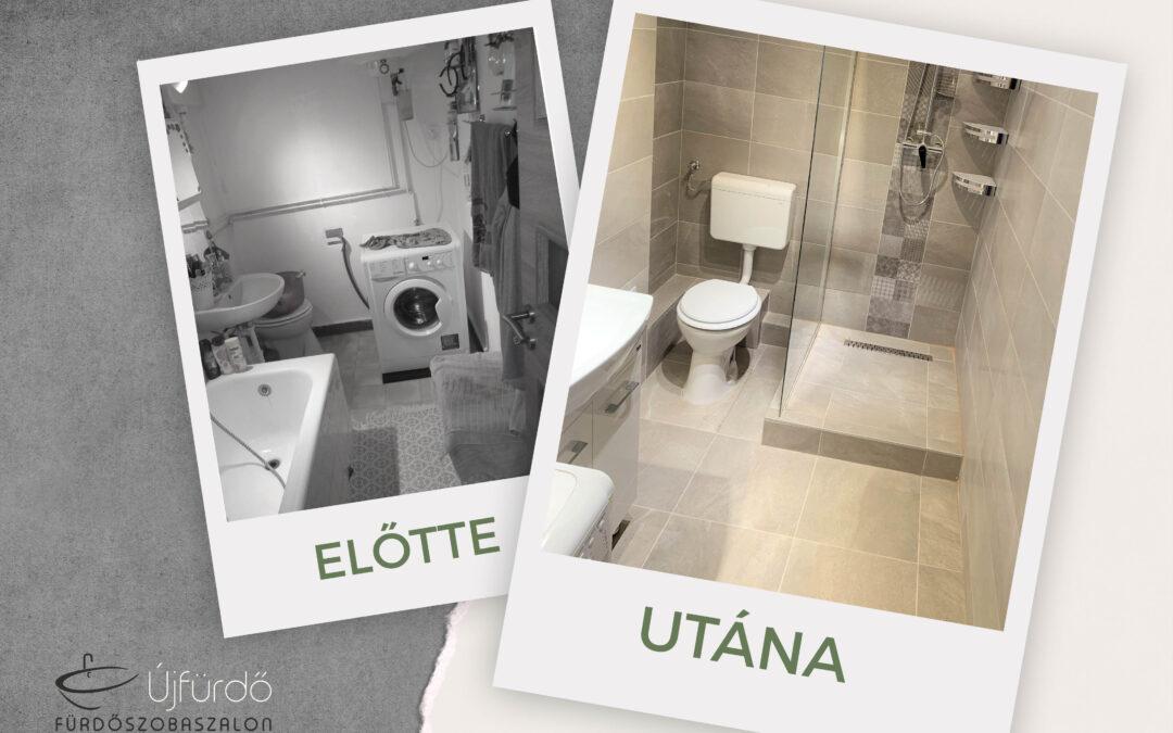 Guth Andrea – Társasházi fürdőszoba felújítás