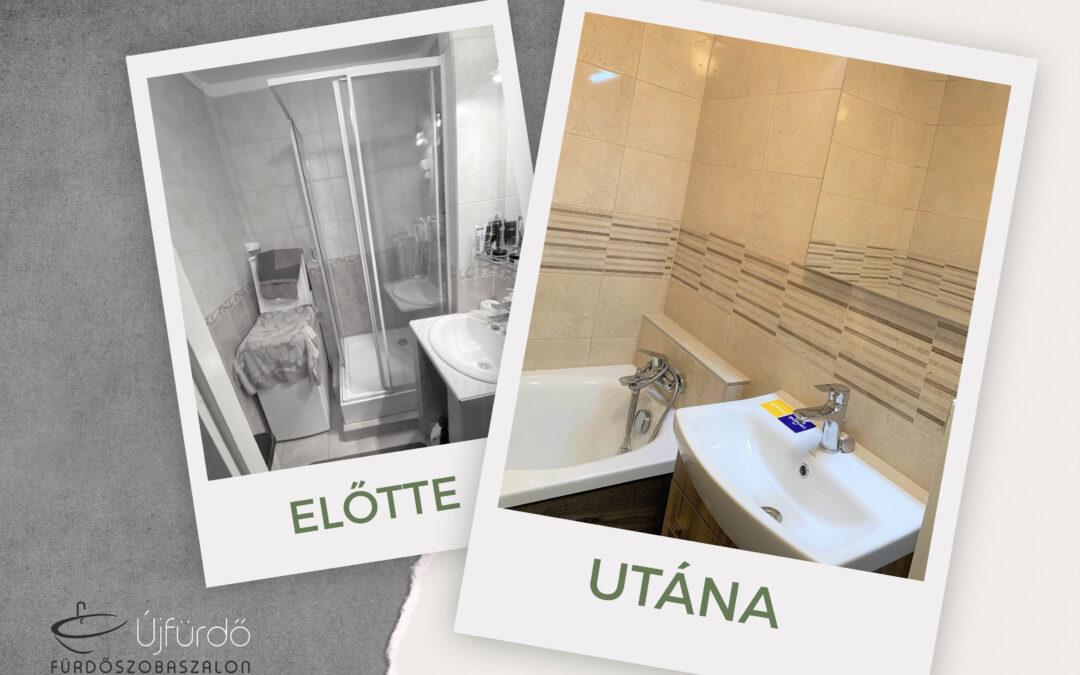 Nyíri Miklós – Panel fürdőszoba felújítás