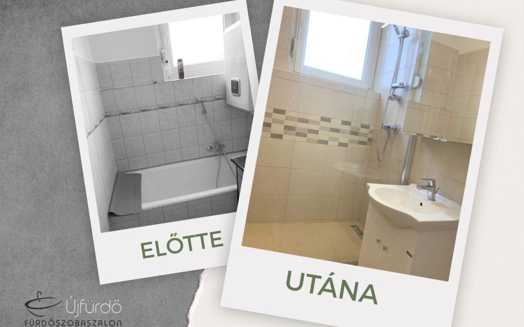 Andor – Társasházi fürdőszoba felújítás