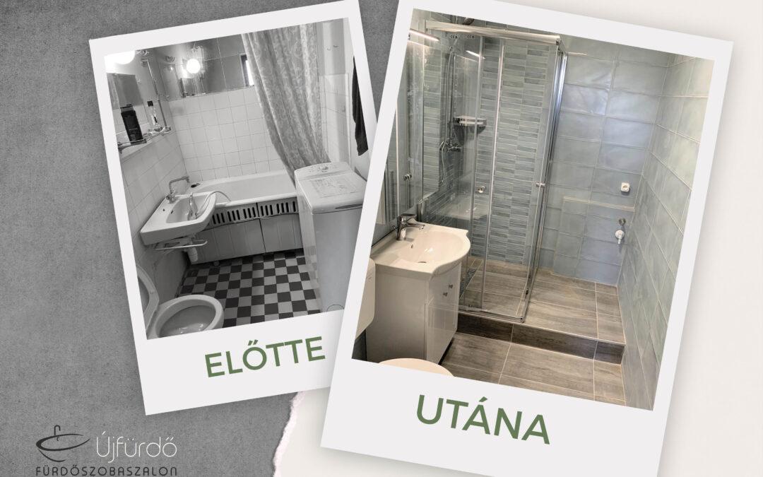 D. Gábor – Társasházi fürdőszoba felújítás