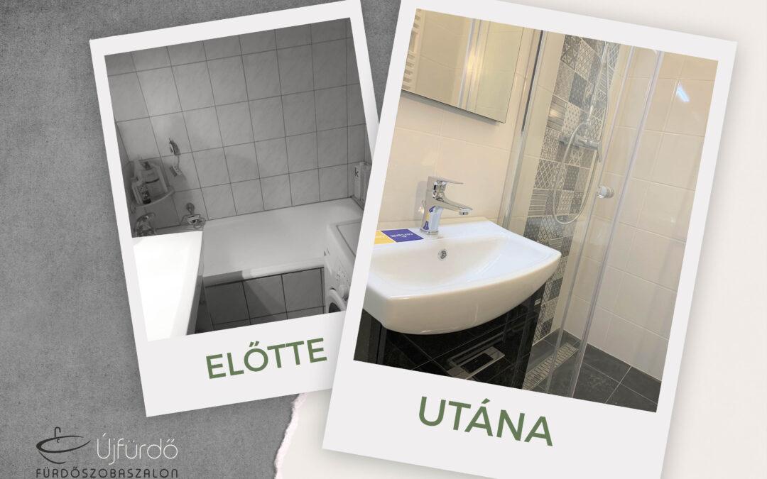 F. Ferencné- Panel fürdőszoba felújítás