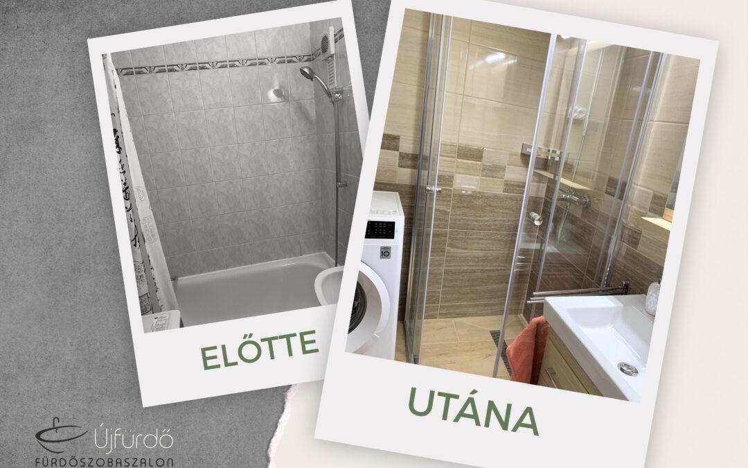 Horváth Ilona- Panel fürdőszoba felújítás