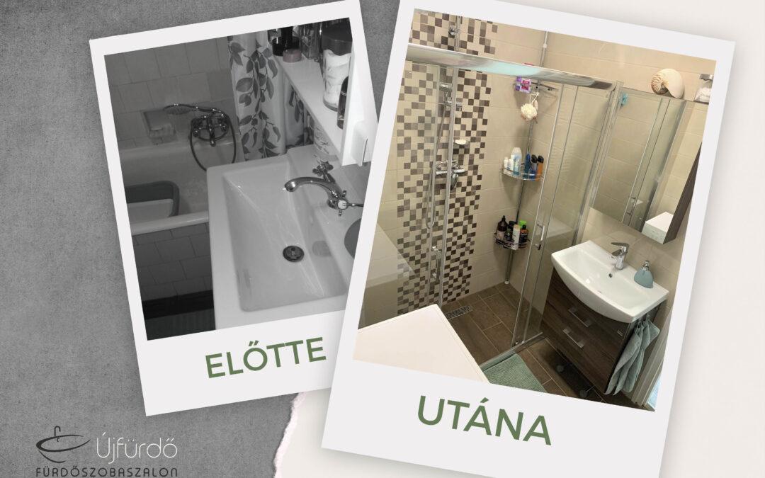 Kojnok Andrea – Társasházi fürdőszoba felújítás