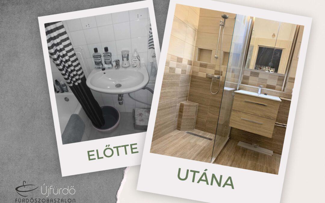 B. Bernadett – Társasházi fürdőszoba felújítás