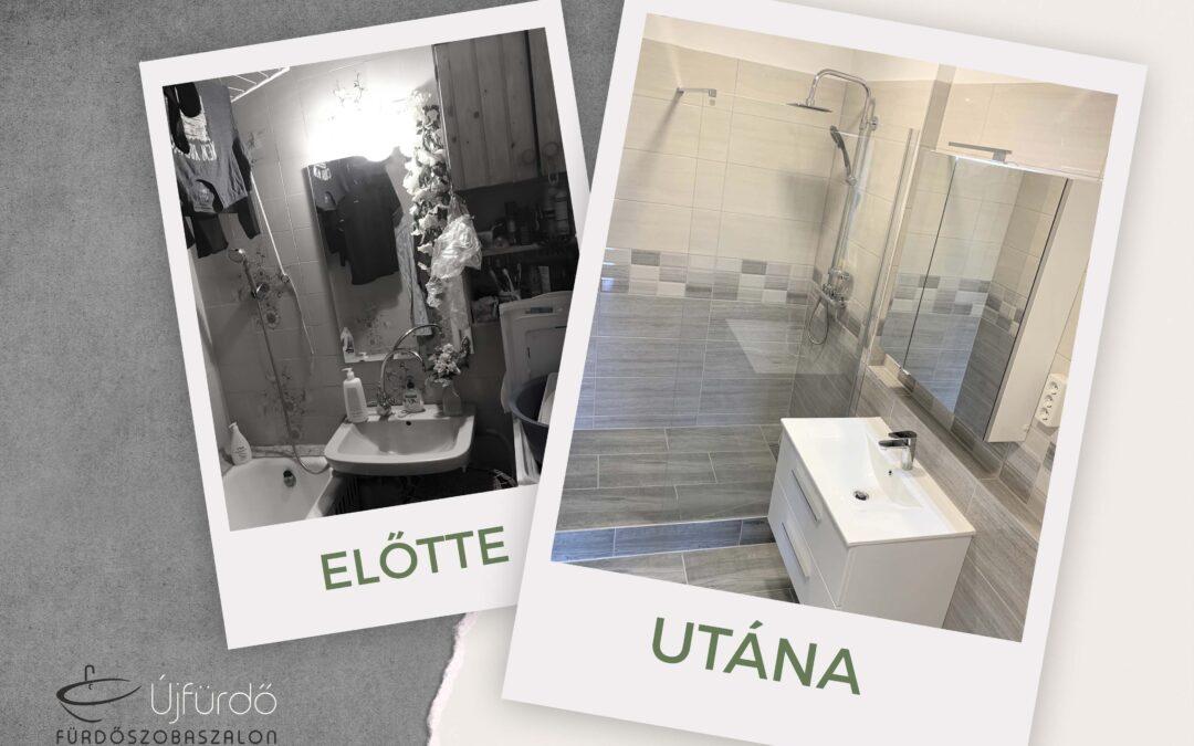 A. Attila – Társasházi fürdőszoba felújítás
