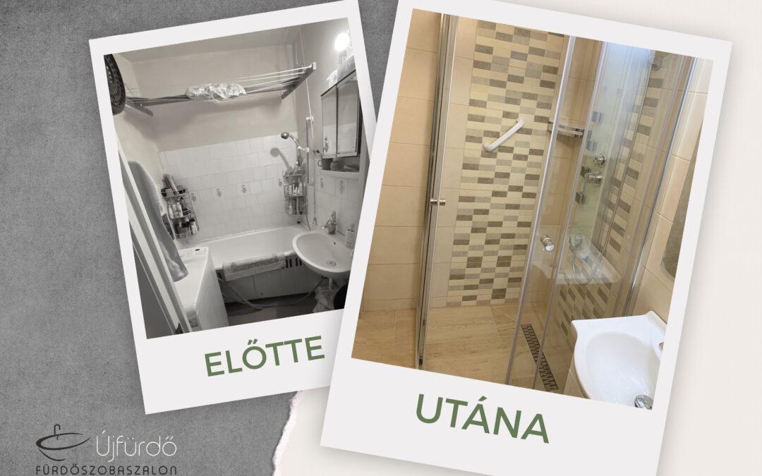 Boda Istvánné – Panel fürdőszoba felújítás