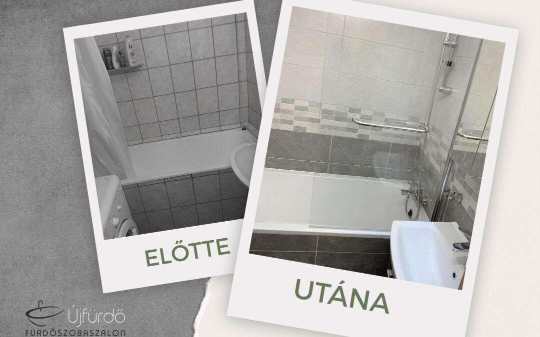 V. Viktor – Panel fürdőszoba felújítás