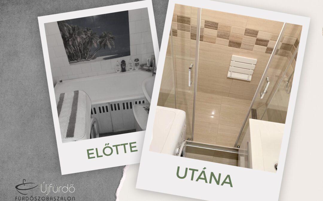 R. Ildikó – Panel fürdőszoba felújítás