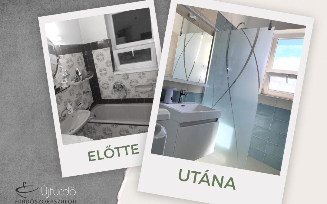 Serfőzőné B. Tünde – Társasházi fürdőszoba felújítás