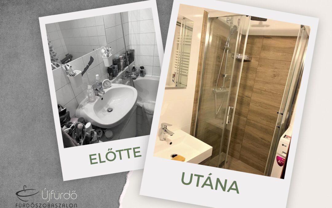 Horváth Ildikó – Panel fürdőszoba felújítás