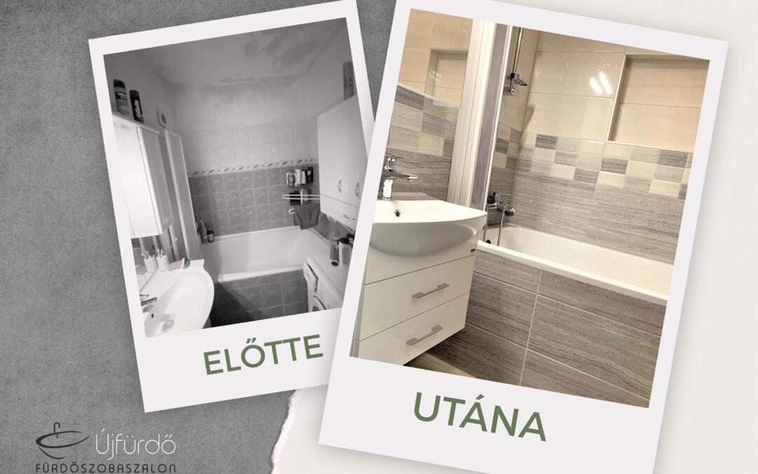M. Jutka – Panel fürdőszoba felújítás