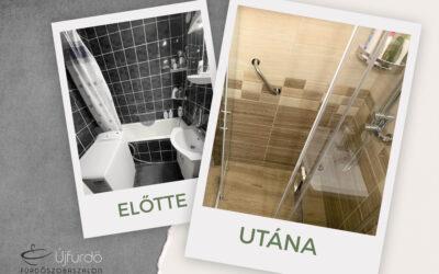 István – Panel fürdőszoba felújítás