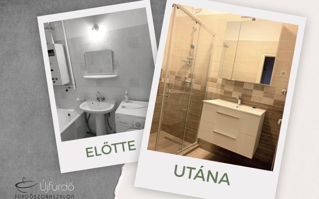 Sz. Erika – Társasházi fürdőszoba felújítás