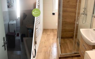 K.M. – Családi ház fürdőszoba felújítás