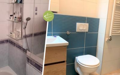 H. Kriszti – Családi ház fürdőszoba felújítás