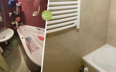 L. Ferenc – Panel fürdőszoba felújítás