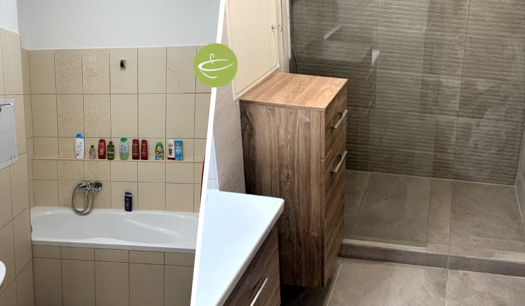 Sz. Szabina - Családi ház fürdőszoba felújítás