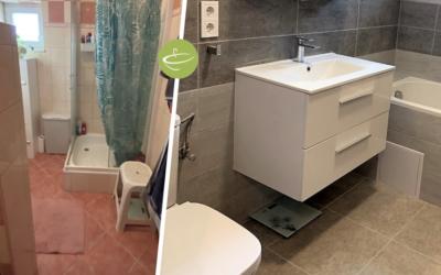 K. Barbara – Családi ház fürdőszoba felújítás