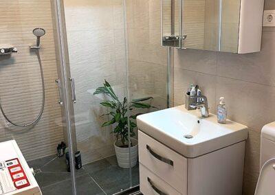 társas ház, fürdőszoba, felújítás, fürdőszoba felújítás, újfürdő