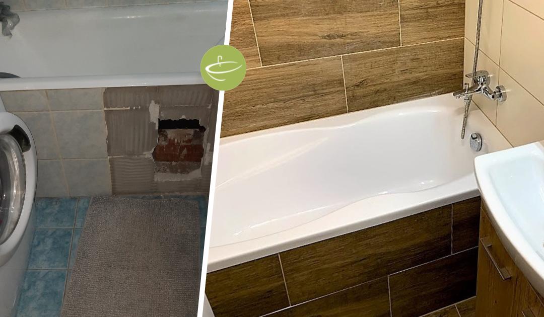 D.A. – Panel fürdőszoba felújítás