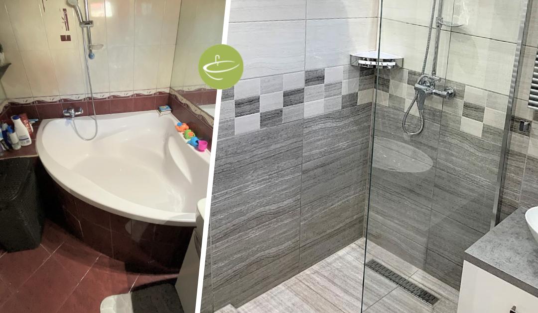 Máté Katalin - Társas ház fürdőszoba felújítás
